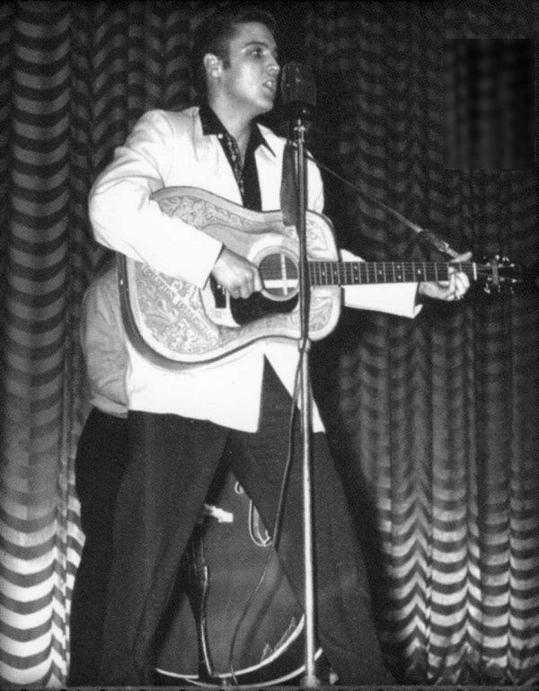 Young Elvis Presley Hair