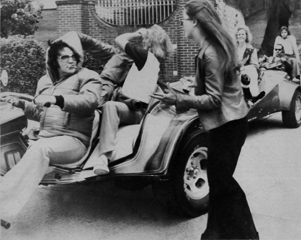 Scotty Moore Elvis Presley S 1975 Super Cycle Stallion Vw Trike