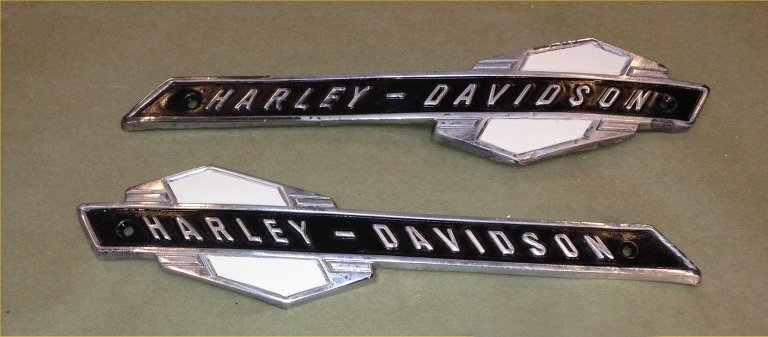 Classic Harley Tank Decals Pictures to Pin on Pinterest ...